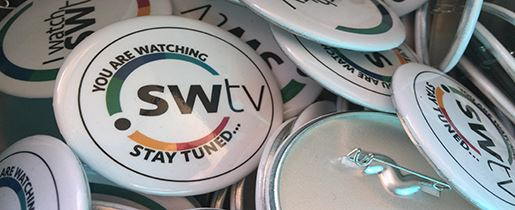 Southwest Community Television Buttons