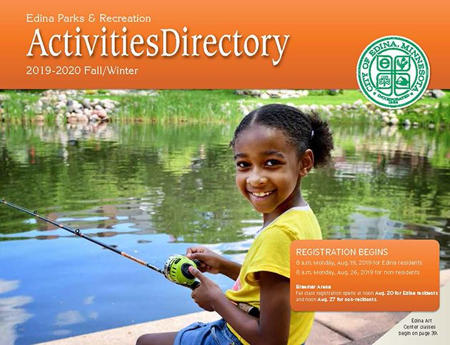Activities Directory Fall 2019 cover