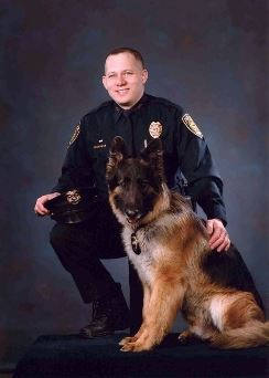 K-9 Kodiak and Sergeant Kevin Rofidal