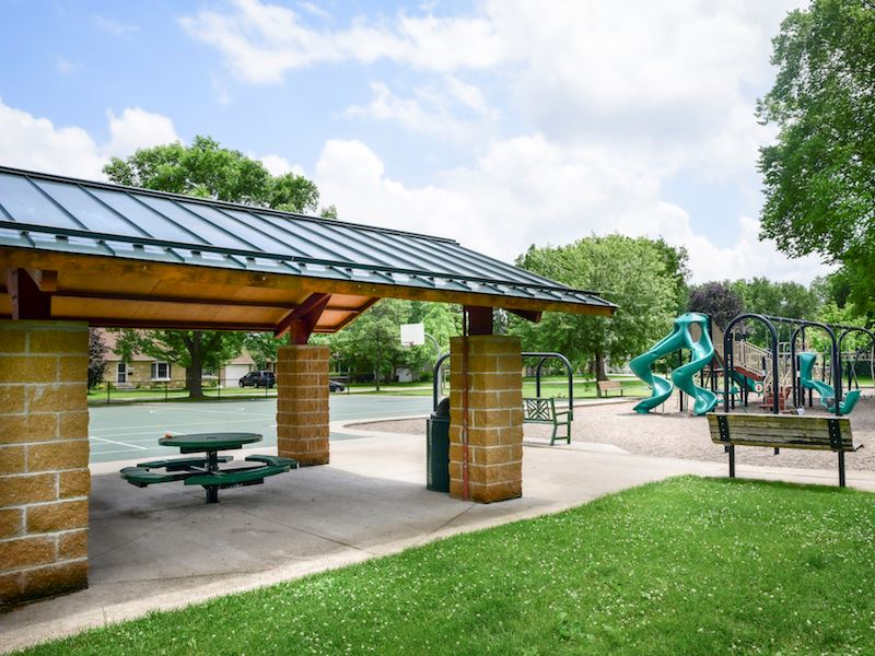 Chowen picnic shelter and playground